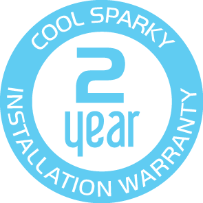 Cool Sparky provide a 2 year warranty on all electrical work